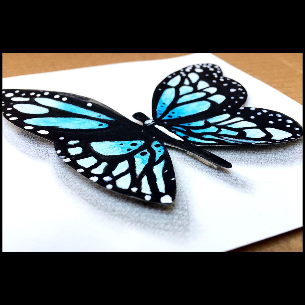 3D Butterfly!